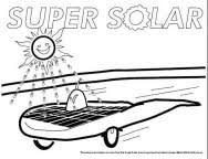 Solar Power Coloring Pages Murderthestout