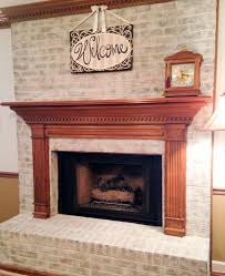 my husband loves our ugly brick fireplace laurel home red brick fireplace remodel ideas
