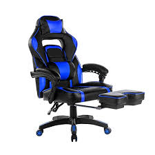 high back computer gaming chair. low price merax high-back racing home office chair, ergonomic gaming chair with footrest high back computer u