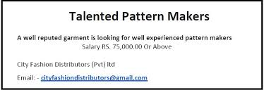 Pattern Maker Salary