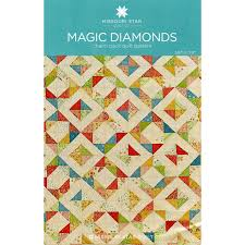 Magic Diamonds Pattern from Missouri Star Quilt Co | Quilt ... & Magic Diamonds Pattern from Missouri Star Quilt Co Adamdwight.com