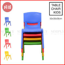 table chair for toddler. Image Is Loading 4x-6x-Kids-Chairs-Children-Toddler-Plastic-Desk- Table Chair For Toddler