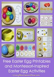 Printable worksheets for teaching students to read and write basic words that begin with the letters br, cr, dr, fr, gr, pr, and tr. 20 Easter Phonics Activities Living Montessori Now