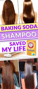 try this homemade shoo recipe with baking soda and vinegar for hair for shiny and silky smooth hairs