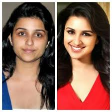 shocking pictures of indian actresses without makeup