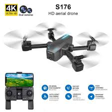 *<b>Free shipping</b>* CSJ S176 RC Drone with Camera <b>4K Dual</b> Camera ...