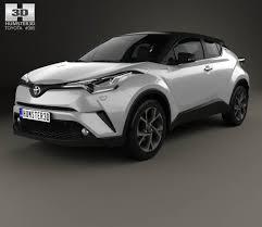 Toyota C-HR 2017 3D model - Hum3D