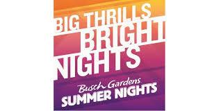 busch gardens summer
