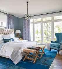 Blue bedroom colors Warm Peacock Blue Better Homes And Gardens Blue Bedroom Decorating Ideas