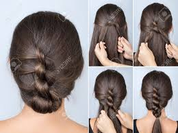 Simple Twisted Hairstyle Tutorial Easy Hairstyle For Long Hair