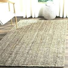chunky jute rug rugs gray casual natural fiber hand woven grey wool west elm