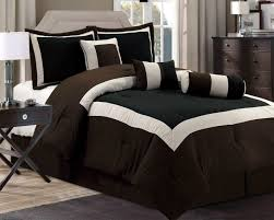 brown bed comforter sets new chocolate black bedding hampton set with regard to prepare 10