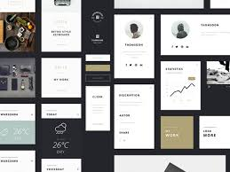 19 High Quality And Free Psd Ui Kits
