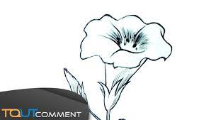 Dessiner Une Fleur Facilement Youtube