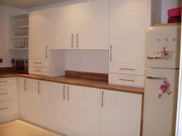 White Gloss Kitchen Worktop Our Kitchen Portfolio Of Work Matthew John Ltd
