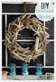 Vintage Country Style: Driftwood Wreath Tutorial // Could we make something  like this?