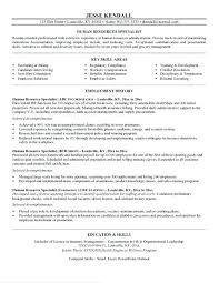 Hr Objective For Resume Human Services Resume Objective Samples Stunning Entry Level Human Resources Resume