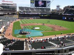 Target Field View From Delta Sky360 Club E Vivid Seats