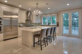 kitchen marble floor designs