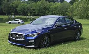 2018 infiniti hybrid. simple infiniti 2018 infiniti q50 red sport 400 blue front left quarter throughout infiniti hybrid