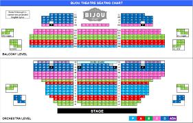 Bijou Seating Chart Knoxville Opera