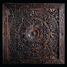 balinese wall decor carved wood wall art panel wall hanging teak throughout carved wood wall art ideas