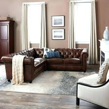 abbyson leather sectional tufted top grain leather piece sectional sofa living reviews abbyson leather sectional abbyson leather sectional