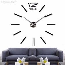 Small Picture Wholesale 2016new Home Decor Big Wall Clock Modern Design Living