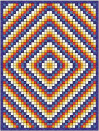 FREE QUILT PATTERNS - Ludlow Quilt and Sew & Sunshine and shadow quilt pattern Adamdwight.com