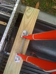 diy fork mount bike rack thread fork mounts for ute tray bike haulage diy fork mount diy fork mount bike
