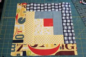 Log Cabin Quilt Pattern 12 Inch Block Gorgeous You Can't Miss This FREE QuiltinaDay Log Cabin Tutorial
