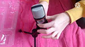 Unboxing na môj nový mikrofón, Marvo MIC-02 čierny - YouTube