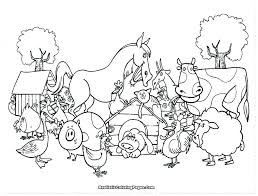 printable farm animals coloring pages animal coloring book for kids packed with farm coloring pages farm