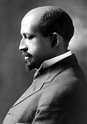 w e b du bois an african american man sitting for a posed portrait