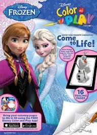 We've collected over 200 free printable disney coloring pages for the little ones to color all day long. Disney Frozen Color Play Color Trace Bendon
