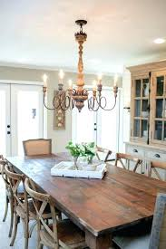 size of chandelier for dining table small dining room chandelier medium size of light dining table
