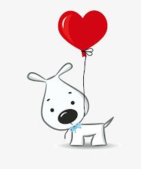 Cartoon Puppy Love Material Cartoon Vector Love Vector Cartoon Adorable In Love Cartoon