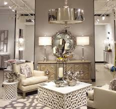 Silver chandelier, white cocktail tables, Ivory chairs
