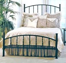 Black Rod Iron Bed Wrought Iron Bed Frame Black Wrought Iron Bed ...