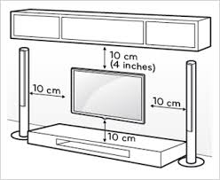 connect your led tv carefully attach the wall mount bracket at the rear of the tv and install the bracket on a solid wall perpendicular to the floor
