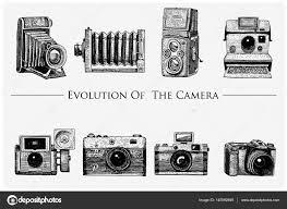 写真ビデオフィルムの進化からムービー カメラ最初スケッチやカット