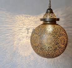 luxury moroccan pendant light sol small