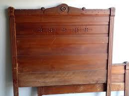 vintage wooden bed frames vintage wood bed frame antique wooden bed frames fr on antique twin vintage wooden bed frames
