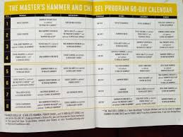 Master Hammer And Chisel Calendar Download