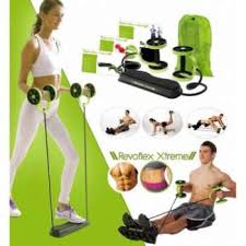 revoflex xtreme workout kit wheeled gym equipment fitness resistance exercises rope ab wheel roller as seen