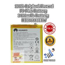 『PIKA』100% <b>Original Huawei</b> P9 Plus Battery 3400mAh Battery ...