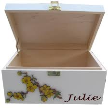 Decorative Memory Boxes Personalised Decorative Keepsake and Memory Boxes for Adults and 1