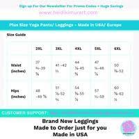 Us Plus Size Chart Satomi Neon Green Womens Plus Size Leggings Yoga Pants Made In Usa Us Size 2xl 6xl
