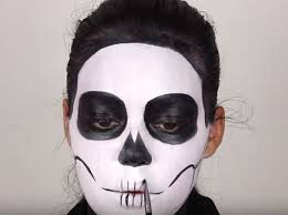 2016 how to apply make up to look like this y skeleton gazette live