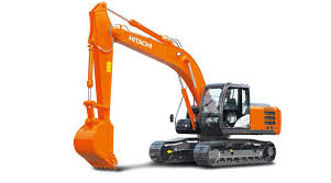 hitachi construction logo. the zaxis-3 series are global standard machines that were designed and developed in hitachi construction logo